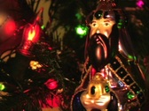 Stock Video Footage of CHRISTMAS WISE MAN 3