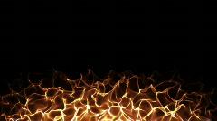 Fire Loop  Stock Footage