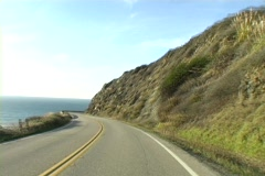 Scenic Highway 1 - stock footage