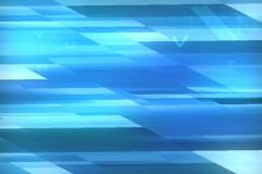 Binary code on blue blocks background Stock Footage