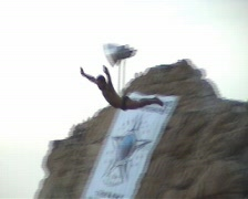 Acapulco Cliffdivers 3 clips Stock Footage