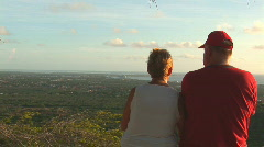 Bonaire - retired couple  Stock Footage