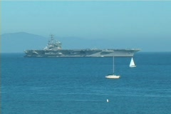 War Ship Stock Footage