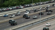 Stock Video Footage of traffic jam