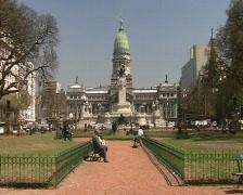 National Congress, Argentina Stock Footage