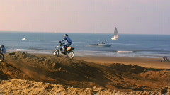 Dirtbike Chaos Stock Footage