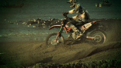 Epic Dirtbike Race Stock Footage