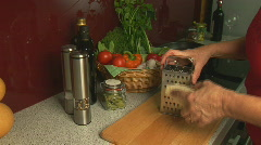 cheese grater wide - stock footage