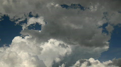 Moody Clouds Stock Footage