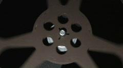 Film Projector 2  w/sound (1080i) Stock Footage