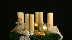 fourth advent part I - stock footage