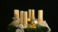 Fourth advent part I Stock Footage