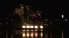 Fireworks show b1 Stock Footage