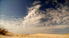 Desert clouds 1080 30p Stock Footage