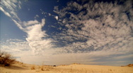 Stock Video Footage of Desert clouds 1080 30p