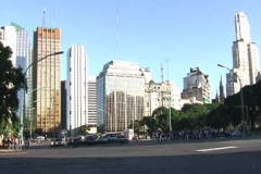 City rush TL 40 (Buenos Aires) - NTSC Stock Footage