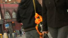 london street scene 01 - stock footage