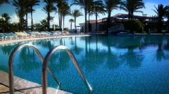 Paradise Pool Stock Footage