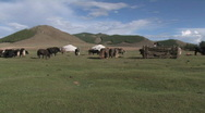 Stock Video of Mongolia: Rural Life Stock Footage