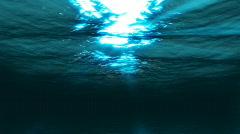 Underwater HD  seamless LOOP Stock Footage