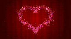 Valentines Day Heart - stock footage