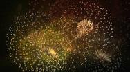 Fireworks Display Stock Footage