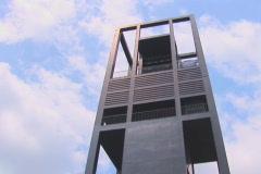 NTSC Netherlands Carillon tiltdown Stock Footage