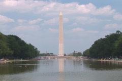 NTSC: Washington Monument & Mall Stock Footage