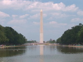 Stock Video Footage of NTSC: Washington Monument & Mall