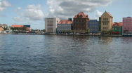 Stock Video Footage of Willemstad, Netherlands Antilles - pan right