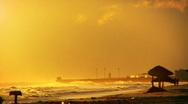 Morning Sea Haze Stock Footage