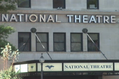 NTSC: The National Theatre - zoom out Stock Footage