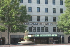 NTSC: The National Theatre - zoom in Stock Footage
