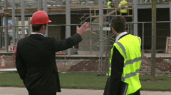 Construction - stock footage