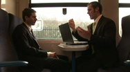 Stock Video Footage of Business On the Go with Lap Top
