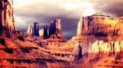 Surreal desert1 Stock Footage