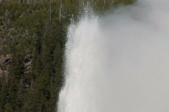 NTSC: Old Faithful - zoom out Stock Footage