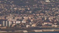 Naples Seaside Houses Medium Stock Footage