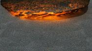 Stock Video Footage of Lava flowing  (Render) 720p