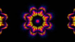 Stock Video Footage of Psychedelic Kaleidoscope
