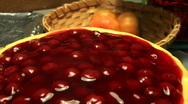 Stock Video Footage of Cherry Chesse Cake