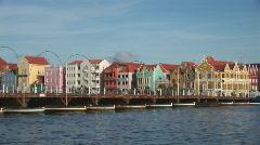 Willemstad, Netherlands Antilles - stock footage