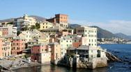 Genoa beach0 Stock Footage