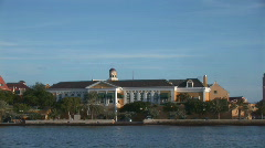 House of Parliament in Willemstad, Netherlands Antilles Stock Footage
