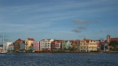 Willemstad, Netherlands Antilles Stock Footage