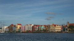 Willemstad, Netherlands Antilles Stock Footage