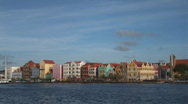Stock Video Footage of Willemstad, Netherlands Antilles