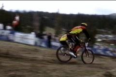 Dual slalom Stock Footage