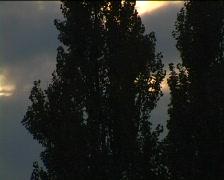 Abendhimmel01 Stock Footage