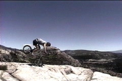 Trials bike 54 Stock Footage